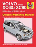 Volvo XC60 and 90 Owner s Workshop Manual