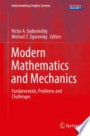 Modern Mathematics and Mechanics
