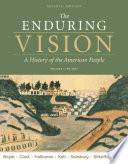 The Enduring Vision Volume I To 1877 Book