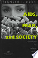 AIDS  Fear  and Society Book