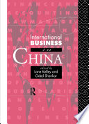 International Business In China Book PDF