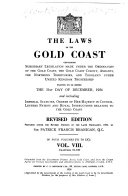 The Laws of the Gold Coast Book
