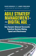 Agile Strategy Management In The Digital Age Book PDF
