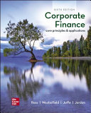Loose Leaf Corporate Finance  Core Principles and Applications
