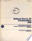 National Survey of Compensation 1976