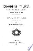 Esposizione Italiana Agraria, Industriale e Artistica tenuta in Firenze nel 1861