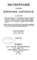 Classique d'Histoire Naturelle par MM. Audouin, Bourdon, Brongniart, De Candolle, &c., avec Atlas