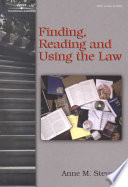 Finding Reading And Using The Law