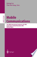 Mobile Communications Book