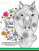 Wild Horses Coloring Book