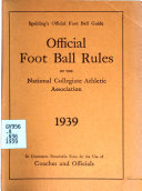 Spalding s Official Foot Ball Guide