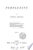 Perplexity  by Sydney Mostyn
