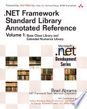 NET Framework Standard Library Annotated Reference