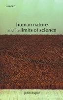 Pdf Human Nature and the Limits of Science Telecharger