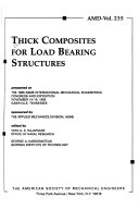Thick Composites for Load Bearing Structures