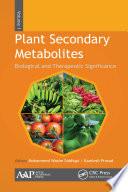 Plant Secondary Metabolites  Three Volume Set