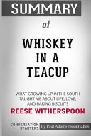 Summary of Whiskey in a Teacup by Reese Witherspoon: Conversation Starters