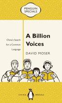 A Billion Voices
