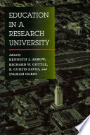 Education In A Research University Book PDF