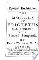 Epicteti Enchiridion Book