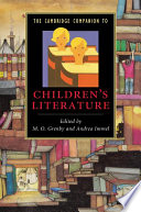 The Cambridge Companion to Children s Literature Book