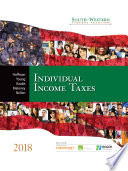 South-Western Federal Taxation 2018: Individual Income Taxes (Book Only)