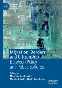 Migration, Borders and Citizenship Pdf/ePub eBook