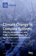 Climate Change In Complex Systems Book PDF