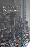 Governance For Development