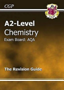 A2 Level Chemistry Aqa Revision Guide