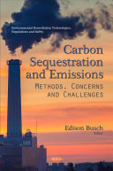 Carbon Sequestration and Emissions Book