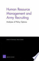 Human Resource Management and Army Recruiting