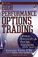 High Performance Options Trading Book
