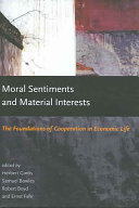 Pdf Moral Sentiments and Material Interests