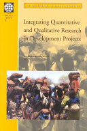 Integrating Quantitative and Qualitative Research in Development Projects