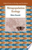 Metapopulation Ecology Book