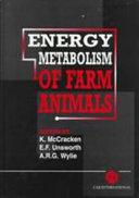 Energy Metabolism of Farm Animals Book