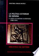 La política exterior de España  , Band 2
