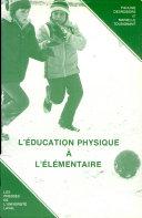 Pdf L'éducation physique à l'élémentaire Telecharger