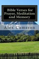 Bible Verses For Prayer Meditation And Memory