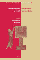 Longing  Belonging  and the Making of Jewish Consumer Culture