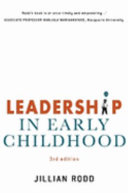 Leadership In Early Childhood