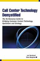 Call Center Technology Demystified