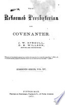 The Reformed Presbyterian and Covenanter Pdf/ePub eBook