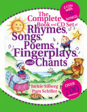 Complete Book and CD Set of Rhymes  Songs  Poems  Fingerplays  and Chants