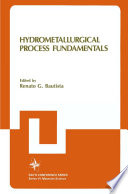 Hydrometallurgical Process Fundamentals