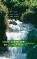 Methods and Reagents for Green Chemistry Pdf/ePub eBook