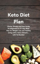 Keto Diet Plan Book