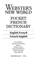 Pdf Webster's New World Pocket French Dictionary