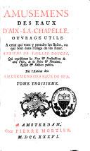 Amusemens des eaux d'Aix-la-Chapelle